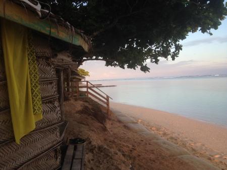 Home sweet beach fale