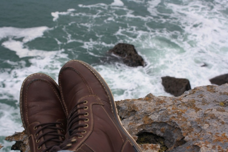 The more I visit, the more I walk, and the more I wear down my boots. I might have to buy a new pair soon enough, but the sea breeze and the Irish views were well worth it.