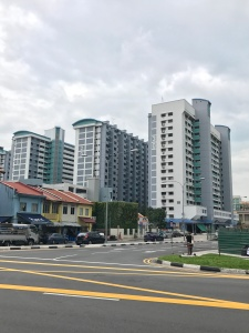 Most people in Singapore live in public housing commissioned by the HDB, the Housing & Development Board