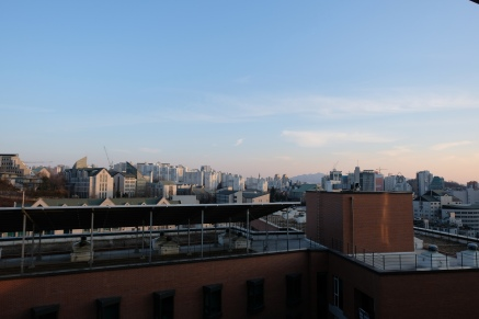 VIEW FROM DORM